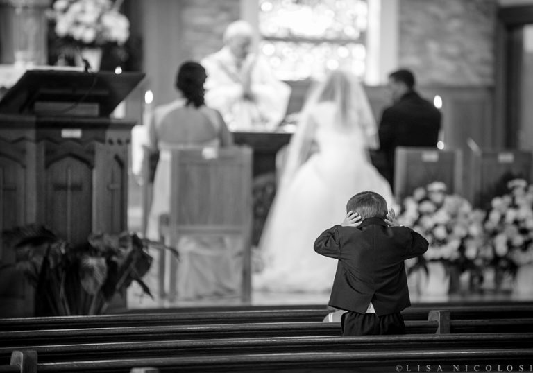 "Ring Bearer Can No Longer ""Bear"" Full Catholic Mass Ceremony 