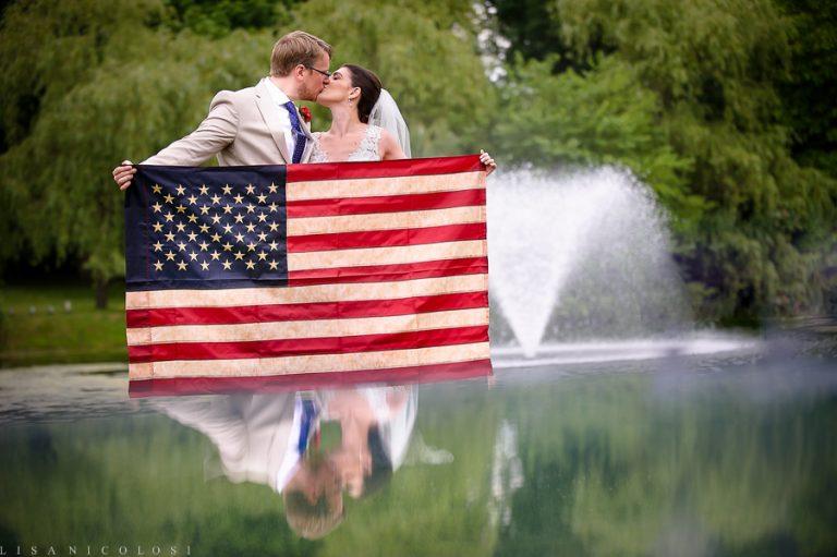 4th of July Wedding at Flowerfields | Long Island Wedding Photographer