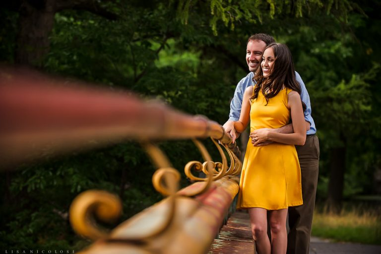 Brooklyn Engagement Session at Prospect Park