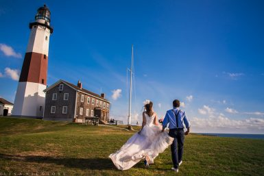 Montauk Point Lighthouse Wedding