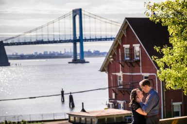 NYC Fort Totten Engagement Session