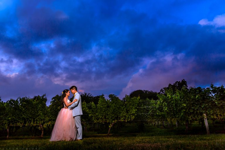 Wedding at The Old Field Vineyard
