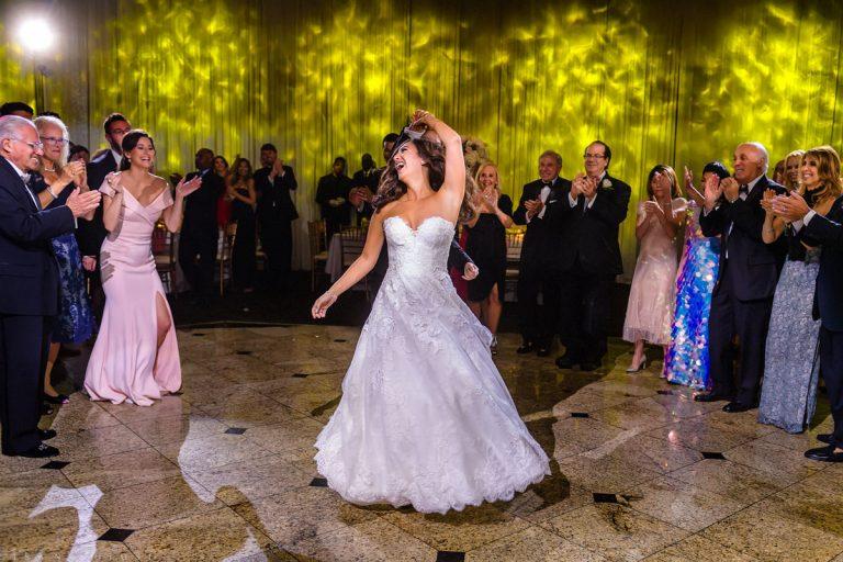 Wedding at Congregation B'nai Tikvah