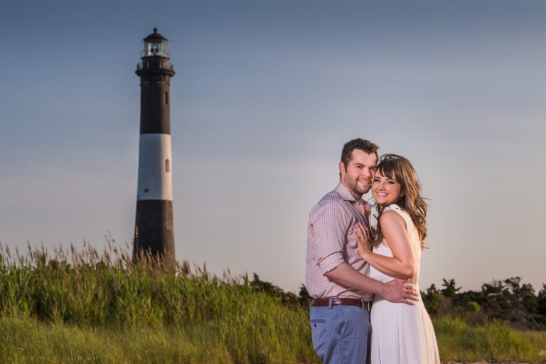 Fire Island Lighthouse Engagement Session