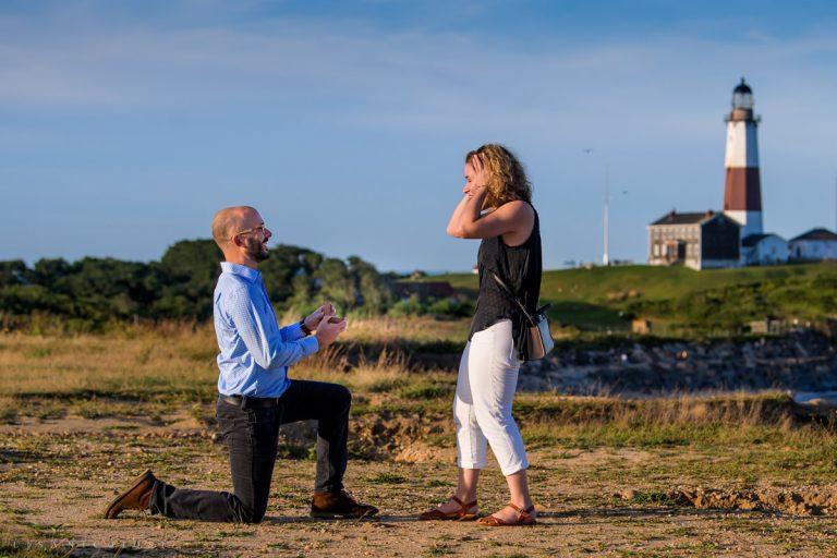Montauk Proposal Photography | Matthew & Jackie