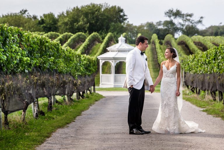 Wedding at Pellegrini Vineyards