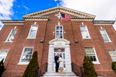 Islip Town Hall Wedding Photographer