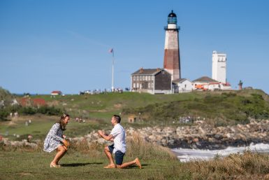 Montauk Proposal Photographer